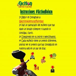 ActionBolazo Promoción Instagram Valladolid