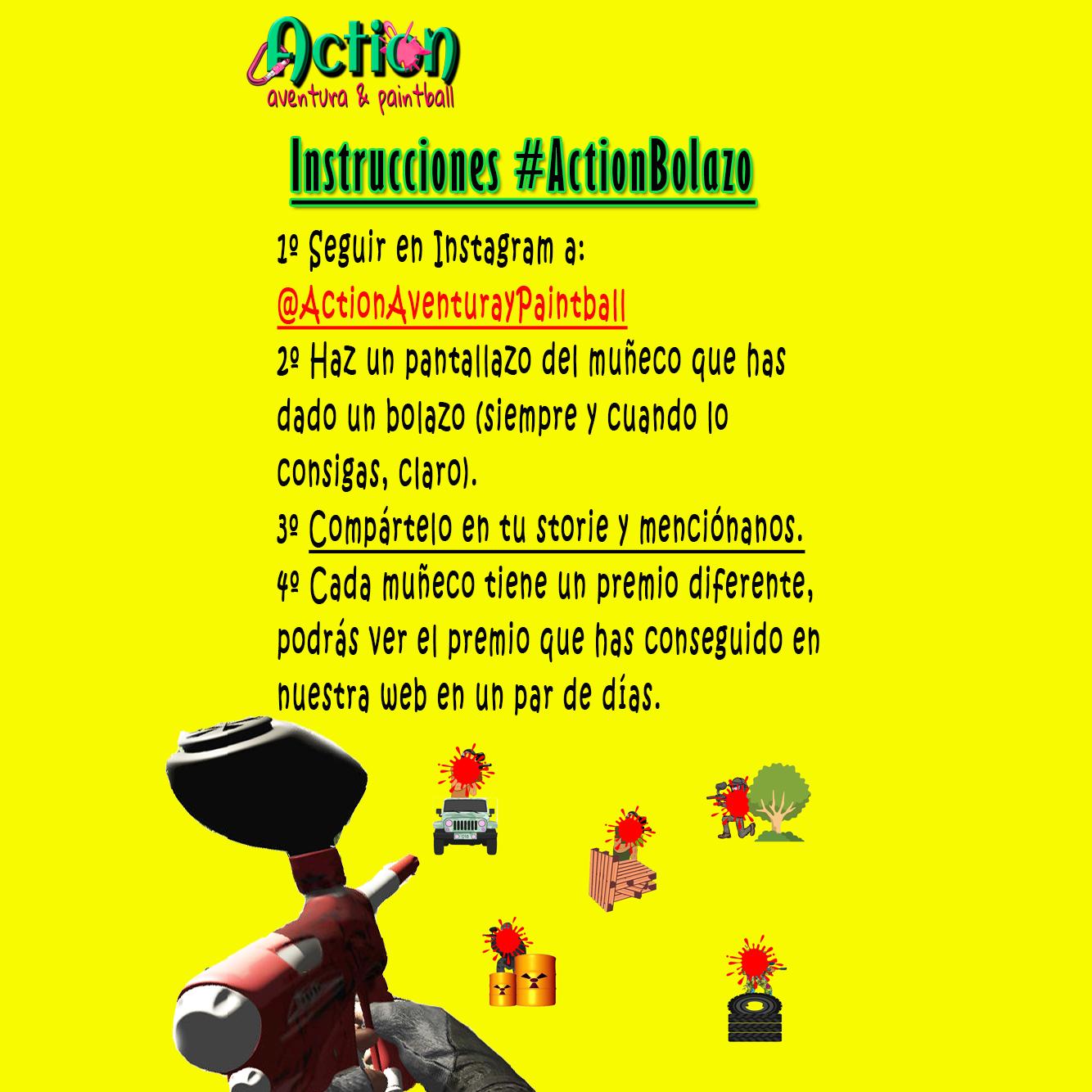 ActionBolazo Promoción Instagram