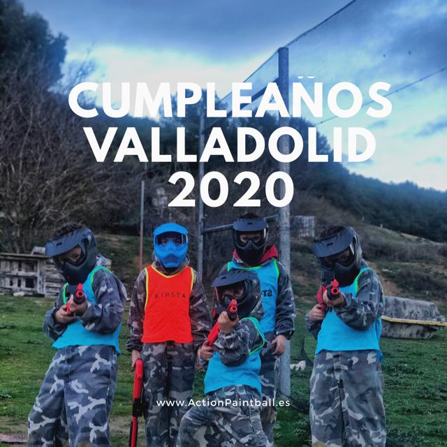 Cumpleaños Valladolid 2020
